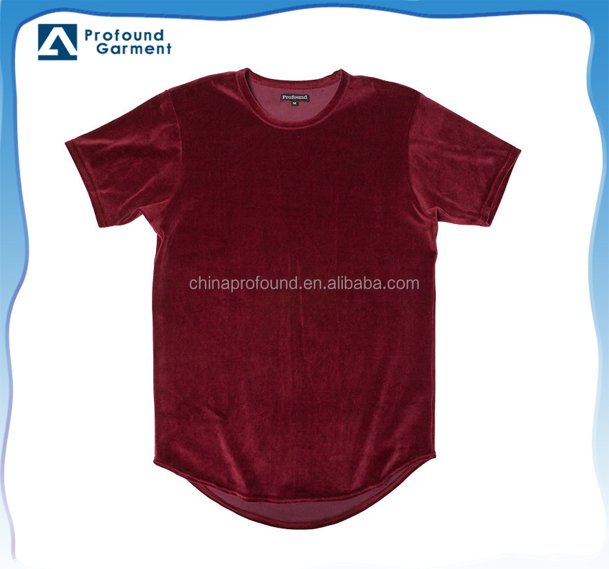 OEM velour t shirt blank cheap t shirt for men/wholesale top 10 t shirt brands