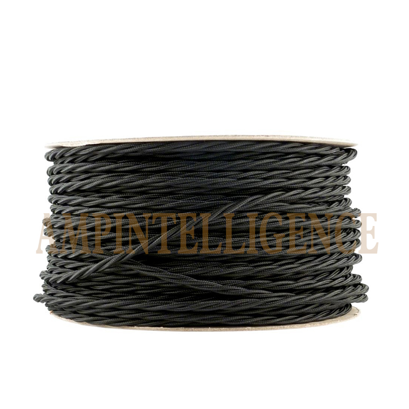 Braided Copper Cable : Braided electrical wire copper retro cable