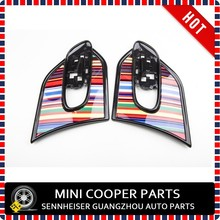 Brand New ABS Material UV Protected Rainbow Color Style Side Scuttle For mini cooper F56 F55 (2 Pcs/Set)