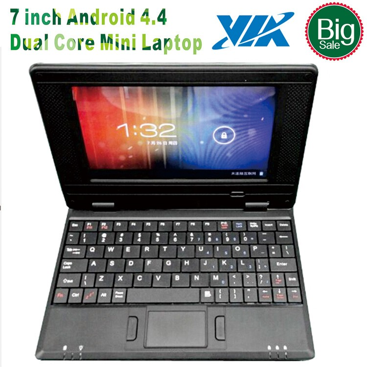 "7 inch mini Laptops VIA 8880 Dual Core 7"" netbook mini UMPC for Android 5.1"