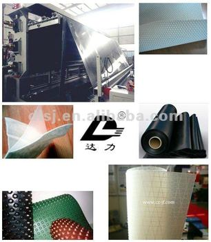 Geomembrane production line for landfill, mining and water project