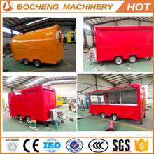 China food trailers Catering Trailer Food Van camper van, kiosk for ice cream food vendor mobile field kitchen/Takeaway Trailer