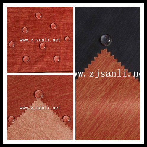 polyester Corrosion resistance Suitable for the production of climbing fashion softshell three layers fabric