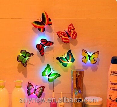Colorful light emitting products Night light factory hot sell