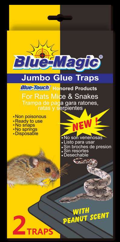 Blue-Magic Hot Melt Adhesive Mice Glue Trap Mouse /Rodent Glue Tray Traps 48pks ,tramp cucaracha