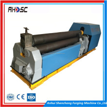 3 roller plate bending machine W11-6X2000 manual sheet metal rolling machine
