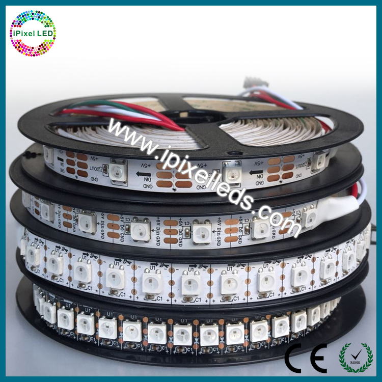ws2811 IC 5050 waterproof ip led pixel strip ws2812b 144pcs