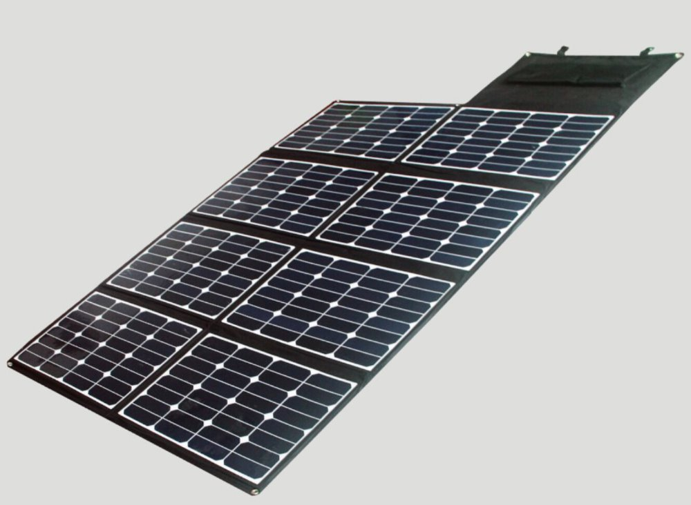 Portable Powered Solar Panel 100w Folding Solar Charger