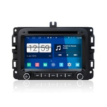 Quad Core 7 inch 2 Din Android Car Stereo Radio HD 1024*600 Muti-touch Screen GPS Navigation For Dodge Ram1500 Car Radio gps !