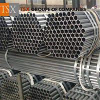 Tianjin manufacturer TSX_G3077 Greenhouse and fence post galvanized steel pipe