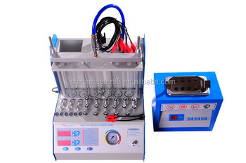Factory supply 6 cylinder Ultrasonic Fuel Injector Tester and Cleaner MSTA360 cleaner and testing meanwhile with CE