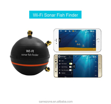 wireless sensor sonar fish finder with WIFI WLAN