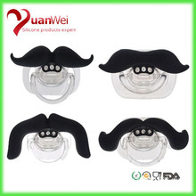 Hot china products Baby silicone Moustache pacifier
