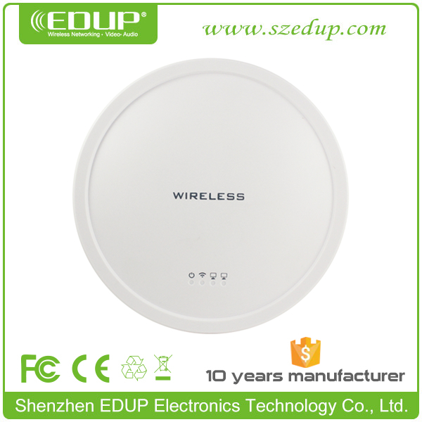 EDUP AR9341+SiGe2576L Dual Chipset 27dBm High Power 300Mbps WiFi Access Point