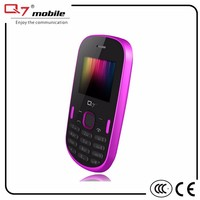 Qual-band dual sim dual standby slim and small mobile phones
