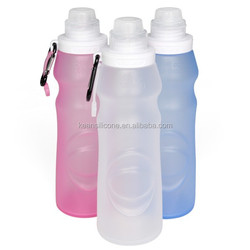 Sollapsible silicone water bottles sports direct / water sport bottle