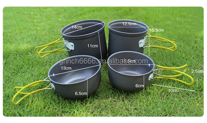 Outdoor Cookware,Camping Cooking Pot,Picnic Cooking Pan