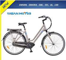 City road electric bike CE approval 8 fun Mid drive Motor electric bicycle for sale