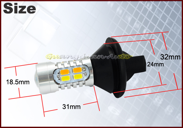 Lightpoint 7440 1156 3156 All In One DRL LED Daytime Running Lights LED Car Light For Any Cars