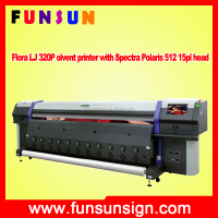 3.2m flora spectra polaris sticker printing machine flex printing machine canvas printer