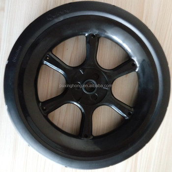 Non -inflatable High Performance PU Solid Wheels