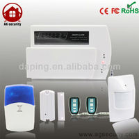 house security telephone line with auto dial