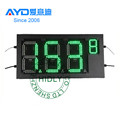High Brightness REGULAR 4 Digits 7 Segment Electronics Scoreboard Wireless Gas Station LED Price Sign LED Open Sign20 inch