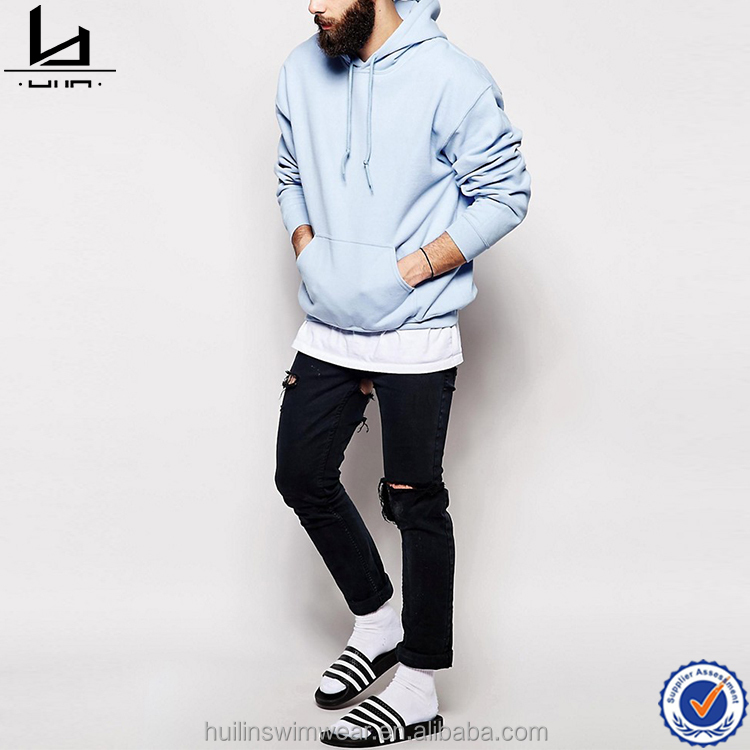 2017 spring fashion comfortable plain blank pullover hoodies manufacturer custom xxxl hoodies for men