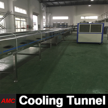 Chemical industry full automatic vending necta cooling tunnel