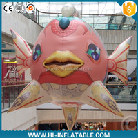 new inflatable fish model,giant inflatable fish sea animal model