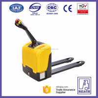 Widely used in supermarket mini type electric pallet truck