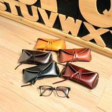 Sunglasses Holder Vintage style Handmade Leather Eyeglass Case