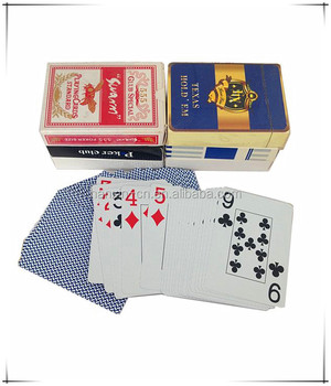 High Quality 100% PVC Plastic Playing Card, Washable 100% Plastic Playing Poker Cards, Jumbo index