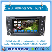 WISDOM Android 5.1.1 Quad Core VW Touareg dvd player car radio gps navigation with stereo multimedia system 2002-2010