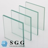Sheet size 6.38mm / 8.38mm / 10.38mm clear laminated glass