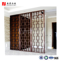 Custom-Made Commercial Decorative Laser Cut Screen Dividers