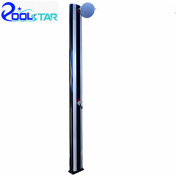 high quality aluminium garden solar shower 40l p2606