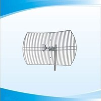 MMDS antenna with wire Grid Parabola stainless hardware