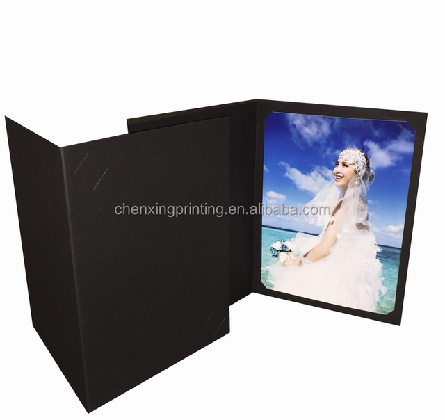 wedding visting card / paper photo frame for wedding pictures