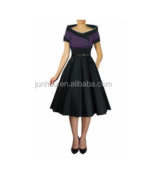 discount vintage retro R2222 Rockabilly 50er Party Swing dress hot selling women sexy new styles