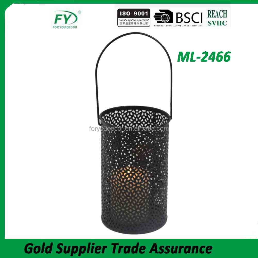 ML-2466 wholesale decorative hanging metal lamps and lanterns in trees