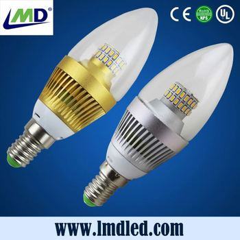 Best quality energy saving led candle tailed bulb