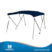 Boat Bimini Top Cover/3-Bow Folding Frame/Pontoon/Wholesale biminitops