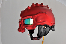 YM-333 stylish Monster motorcycle helmet open face helmet