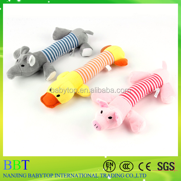 3 Designs new arrival Supply Worldwide Store,New Dog Toys Pet Puppy Chew Squeaker Squeaky Plush Sound Duck Pig & Elephant Toys