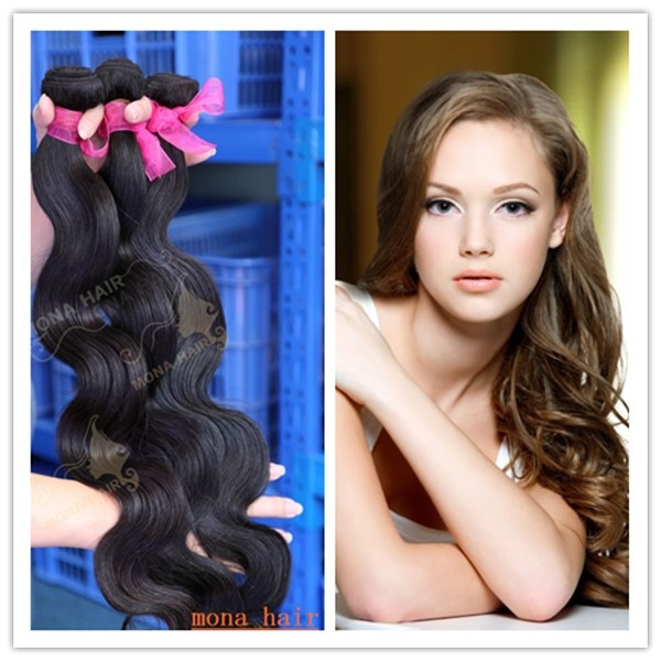 Wholesale varied textures brazilian hair extensions body wave 7A top grade human hair weaving