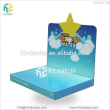 Counter top cardboard retail display boxes