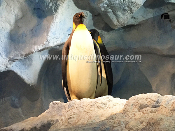 Simulation Emperor Penguin Animatronic Animals For Sale