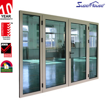 AS2208 glass standard sound insulation aluminum extrusion hinge door