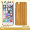 Real wood factory eco friendly detachable wooden cell phone case for iphone 7 6